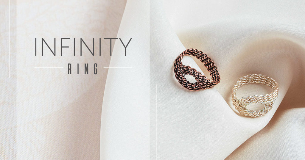 <i>Kumihimo Wirework Made Easy:</i> Infinity Ring