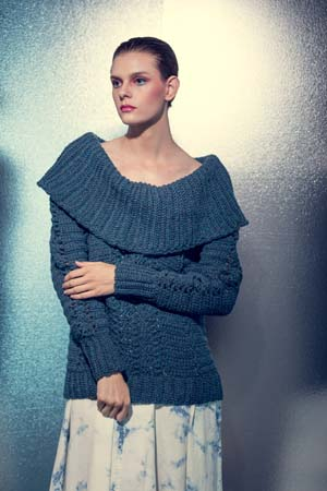 Influx Pullover Crochet Sweater Pattern