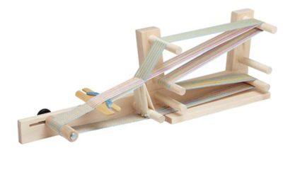 Inkle loom side view