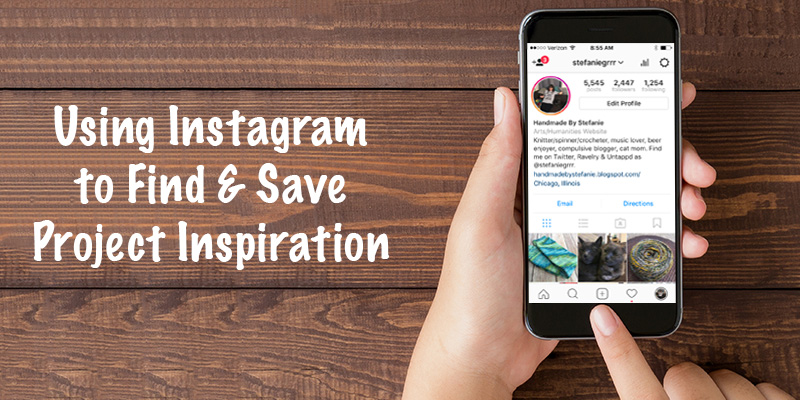Using Instagram to Find & Save Project Inspiration