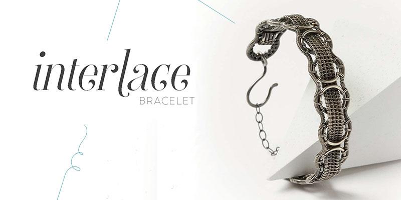 <em>Woven in Wire</em> Jewelry: Interlace Bracelet