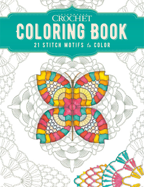 Interweave Crochet Coloring Book