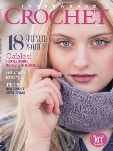 Cover of Interweave Crochet Fall 2016