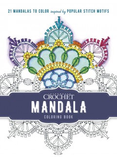 Interweave Crochet Mandala Coloring Book