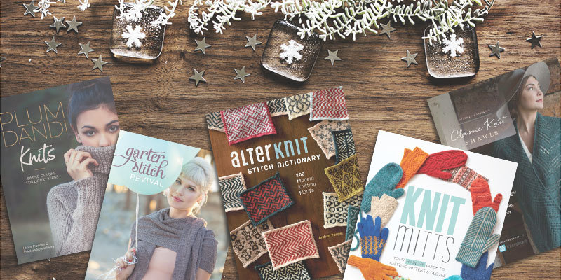 Interweave's 2017 Knitting Books, A Year in Review