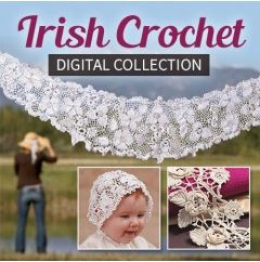 This Irish Crochet collection will provide you with the basic Irish crochet patterns to create your own designs.