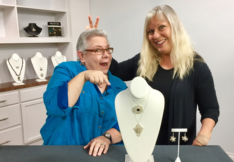learn metal clay jewelry making