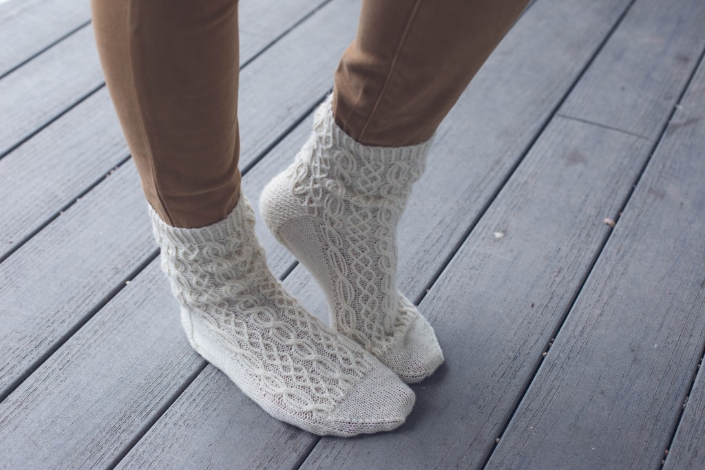 You have to knit these traditional Oxford knitted stockings Inspired by the peasant knitting of the Enns Valley, Austria.