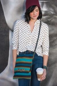 Slow Stripes Shoulder Bag by Deborah Jarchow
