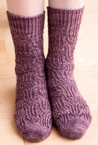 Learn everything you need to know about sock knitting with this free article.