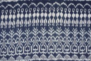 warp-faced jaspé cloth