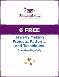 You'll love these FREE beaded jewelry making projects and techniques in this FREE guide.