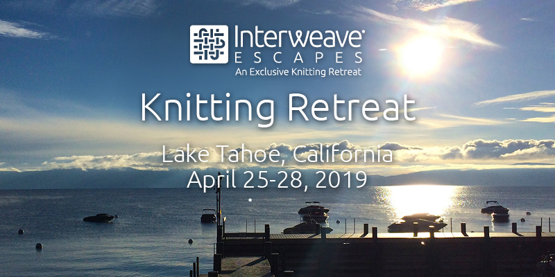 Join Interweave Escapes in Lake Tahoe, California April 25 – 28, 2019 with Instructor Romi Hill