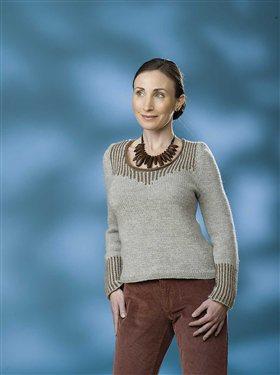 pinstripe-pullover Knitting Pattern