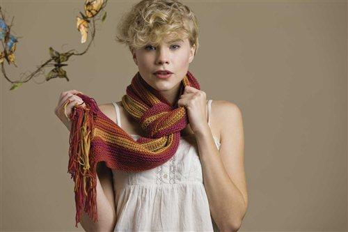 shelburne scarf Knitting Pattern