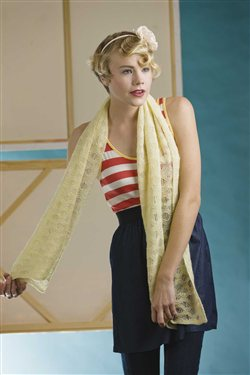 There are never enough scarf knitting patterns. Here's the Embassy Scarf from Scarf Style 2 from Interweave.