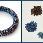 Learn Right-Angle Weave and Bead a Stylish Bangle Bracelet