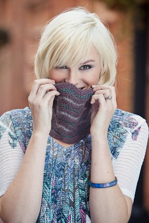 Gray's Ferry Cowl Courtney Kelley Knitscene Spring 2012