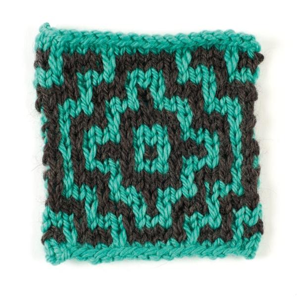 Mozaika na drutach
