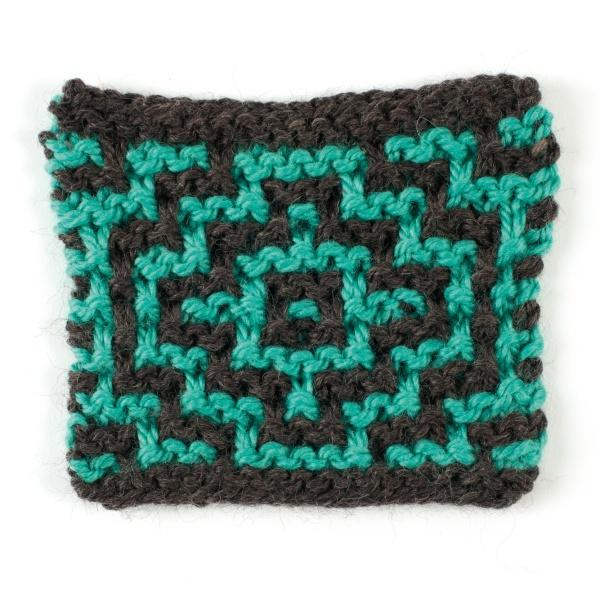mozaika na drutach garter