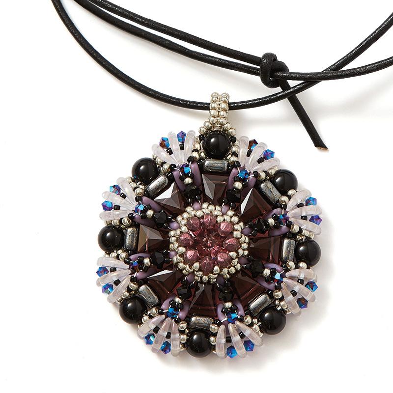 Keystone Mandala Pendant
