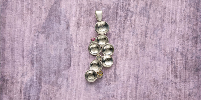 Turn Recycled Scrap Silver Into Kieu Pham Gray's Sparkling Pendant