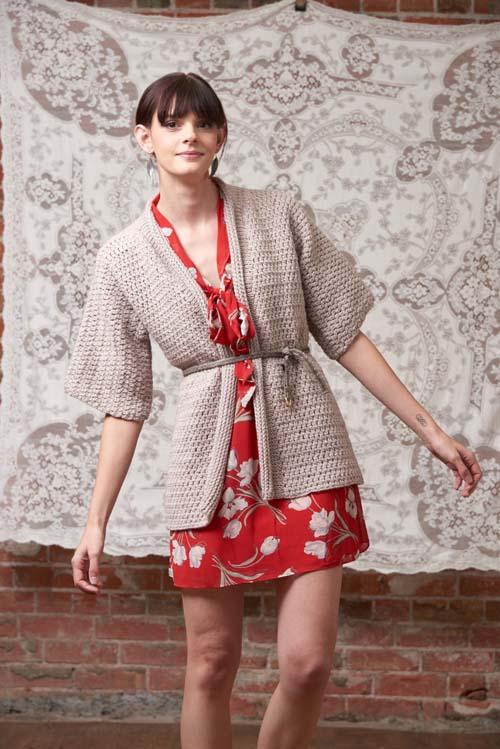 Kimono Wrap Crochet Pattern