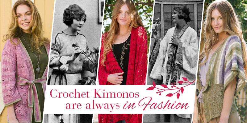 Crochet Kimonos are Always in Fashion