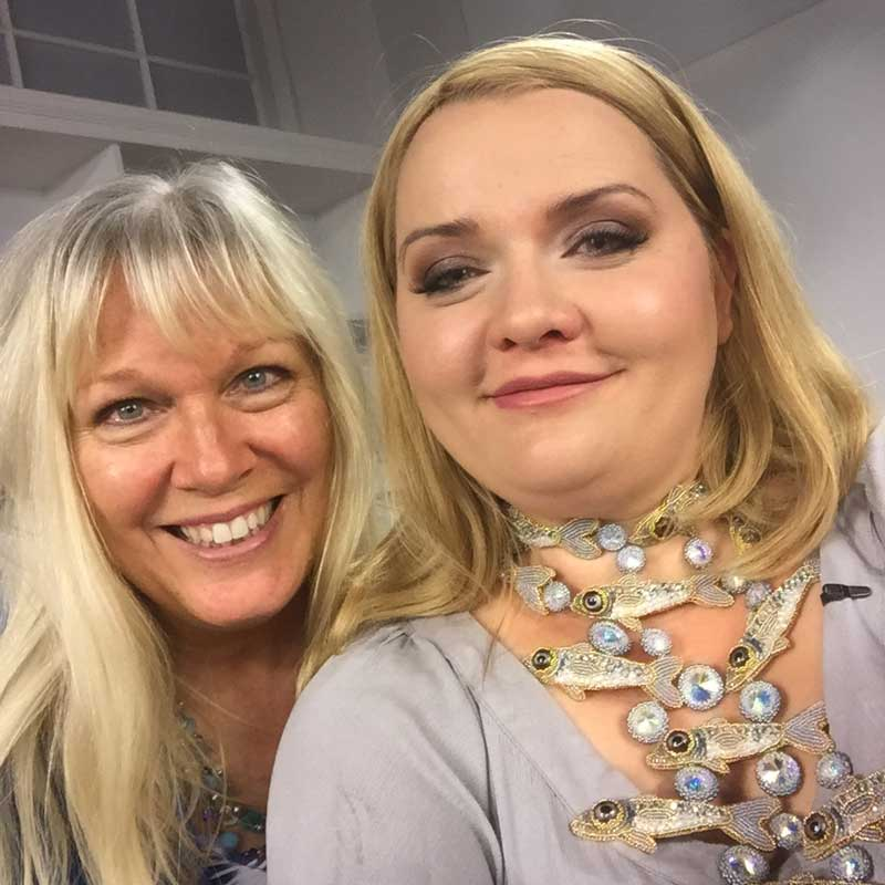 Bead Embroidery: Behind the Scenes with Kinga Nichols