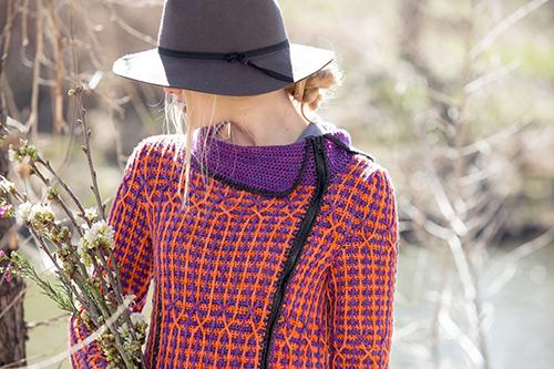Collar of Kinni Crochet Cardigan