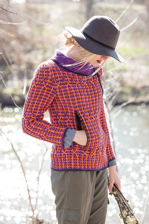 Pocket in Kinni Cardigan crochet sweater