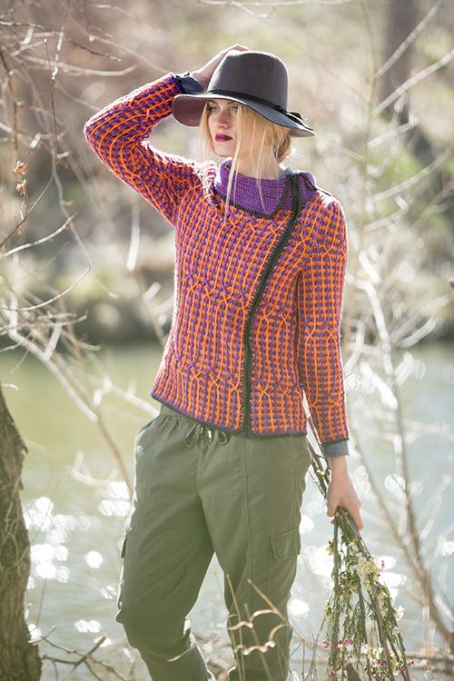 Kinni Cardigan Crochet Sweater