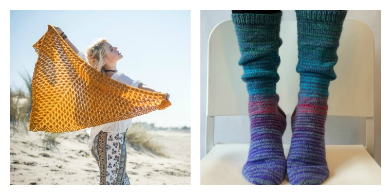Laura's Choice: Shawls or Socks