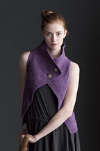 Chatoyant Vest - Knitting Pattern