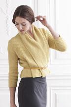 Chickadee Cardigan - Knitting Pattern