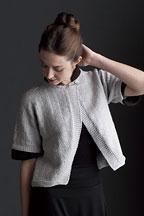 Crossed Jacket - Knitting Pattern