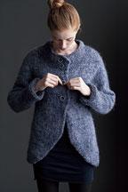 Cutaway Coat - Knitting Pattern
