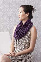 Mistake Stitch Möbius - Knitting Pattern
