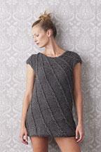 Slipped-StitchMini Dress - Knitting Pattern
