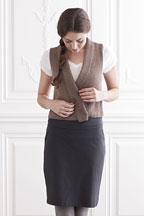 Tern Vest - Knitting Pattern