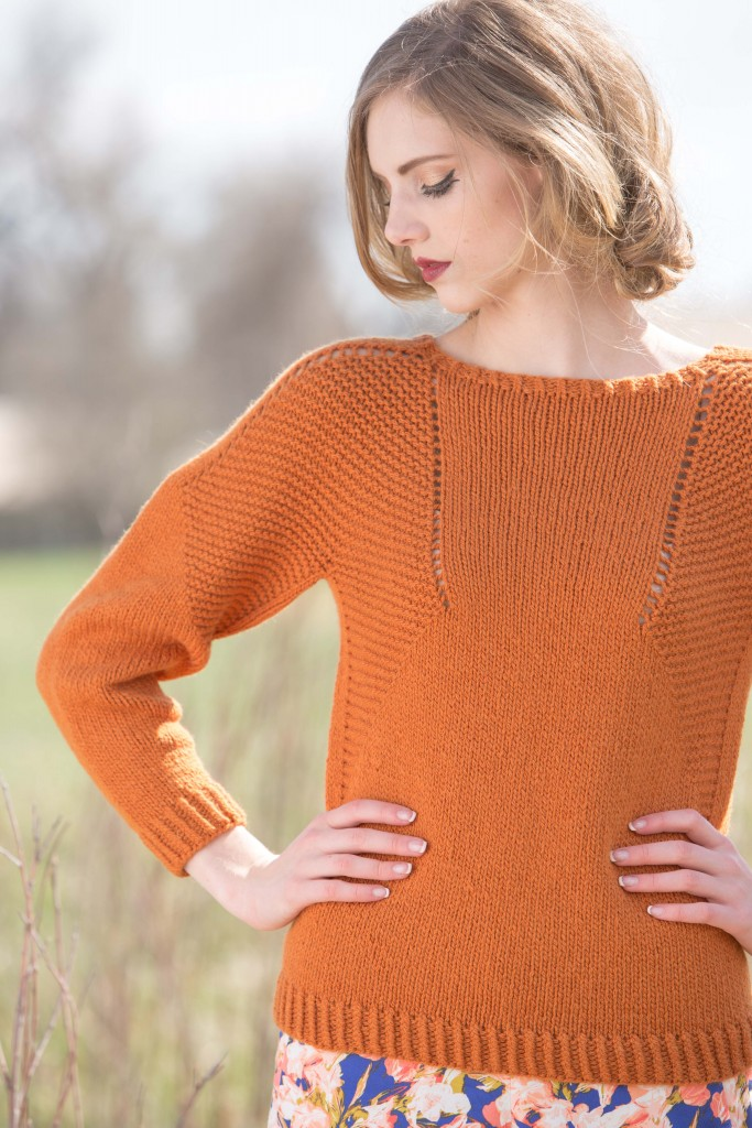 Caldwell Pullover by Courtney Spainhower, Knitscene Fall 2015