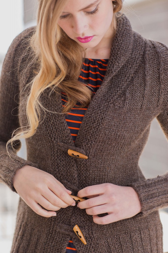 Solitude Jacket knitwear won the Fall 2015 knitalong poll from Knitting Daily.