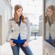 pennant cardigan pattern knitscene fall 2015