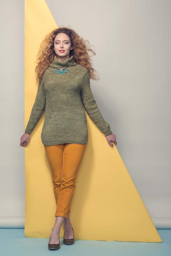 Chamei Sweater Knitting Pattern