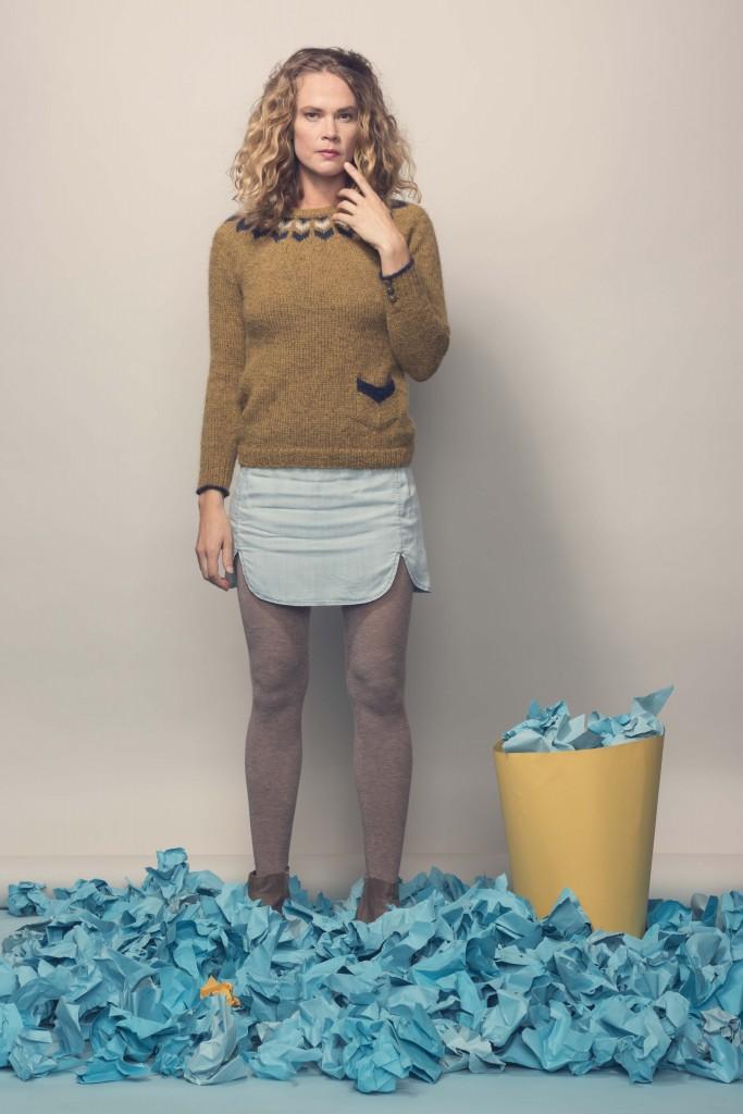 Little Norway Sweater Knitting Pattern
