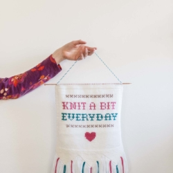 home decor knitting patterns