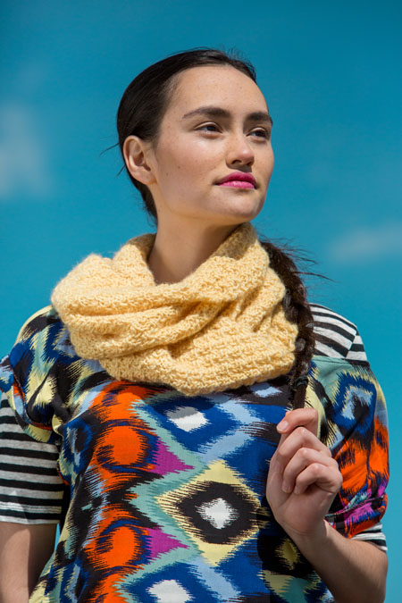 Cirrus Cowl knitting pattern