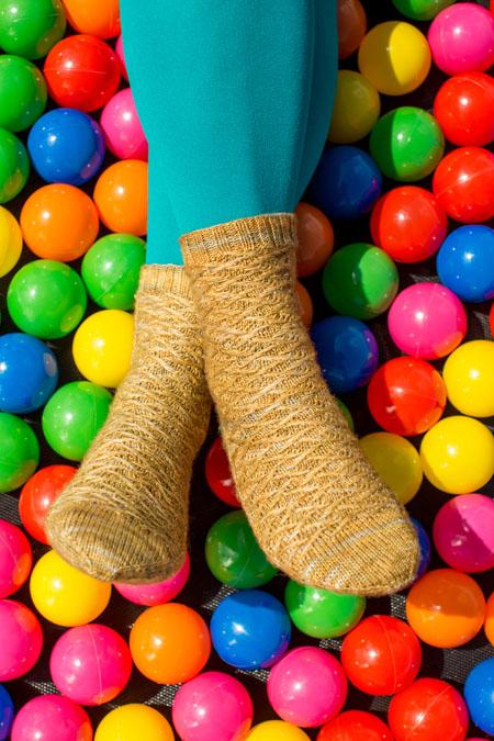 Perigee Socks Knitting Pattern
