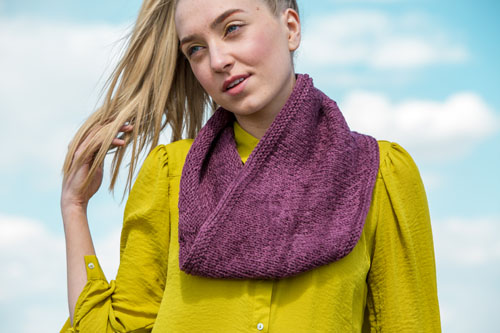 Empyrean Cowl Knitting Pattern