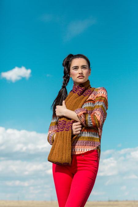 Caelum Cowl knitting pattern